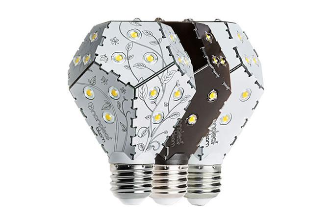 The Nanoleaf Bloom LED Lightbulb