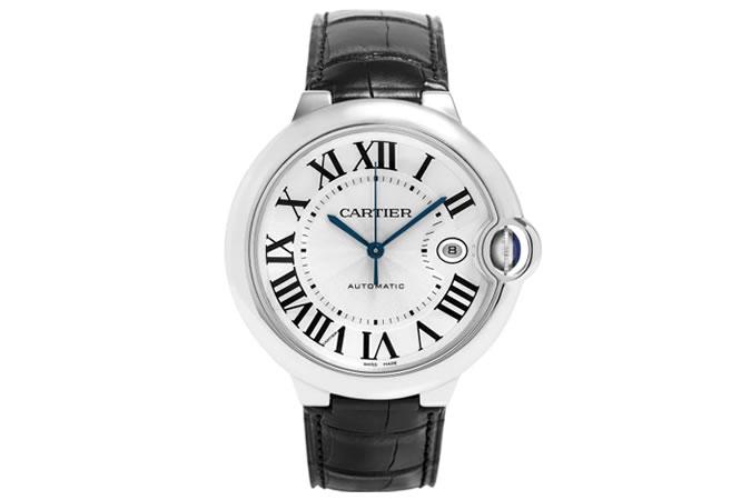 Cartier Ballon Bleu De Cartier Automatic Silver Dial Watch