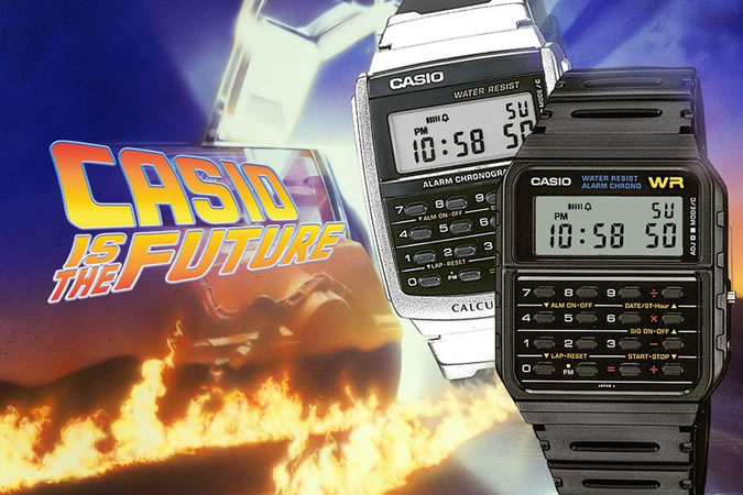 Back To The Future, Casio CA53W Twincept Databank