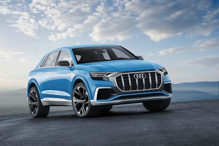 Audi Q8 concept – Full-size SUV In Coupe Design