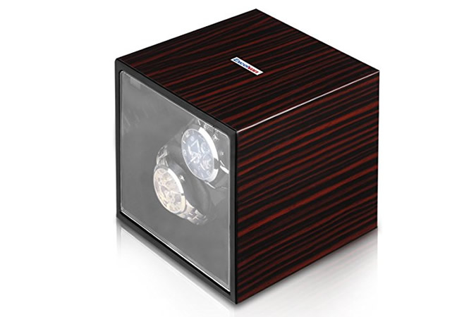 Excelvan Automatic Wood Watch Winder