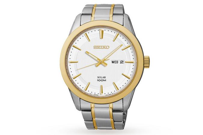 Seiko Solar Men's Watch