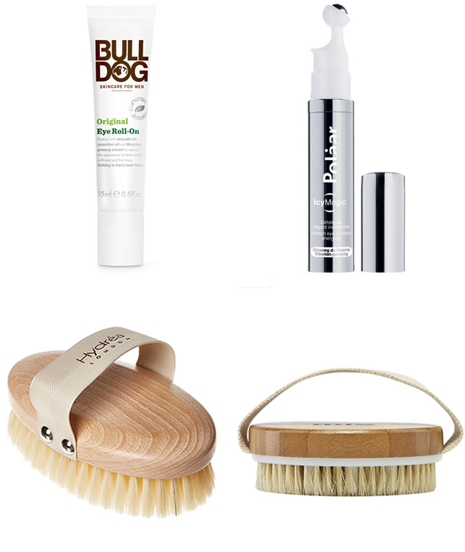 Eye Roll-ons and Body Brushes