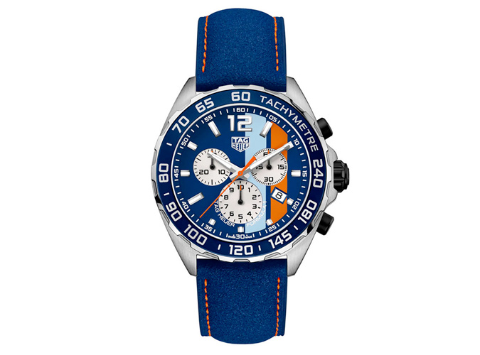 TAG Heuer Formula 1 Gulf Chronograph Special Edition Men's Watch