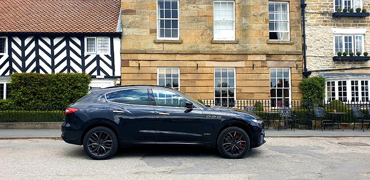 The Black Swan Helmsley North Yorkshire (19) Maserati SUV Levante