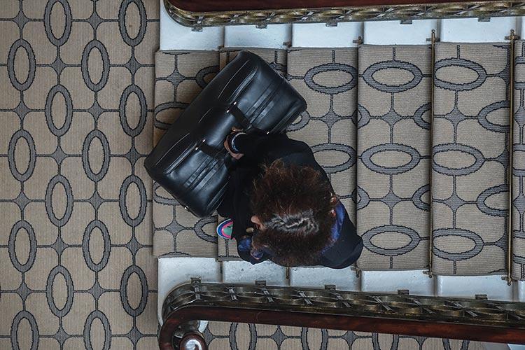 Continental Weekender Bentley leather calf bag
