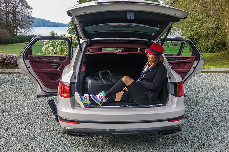 Bentley SUV Bentayga boot space
