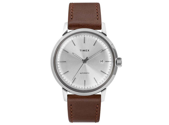 Timex Marlin Automatic 40mm Leather Strap Watch