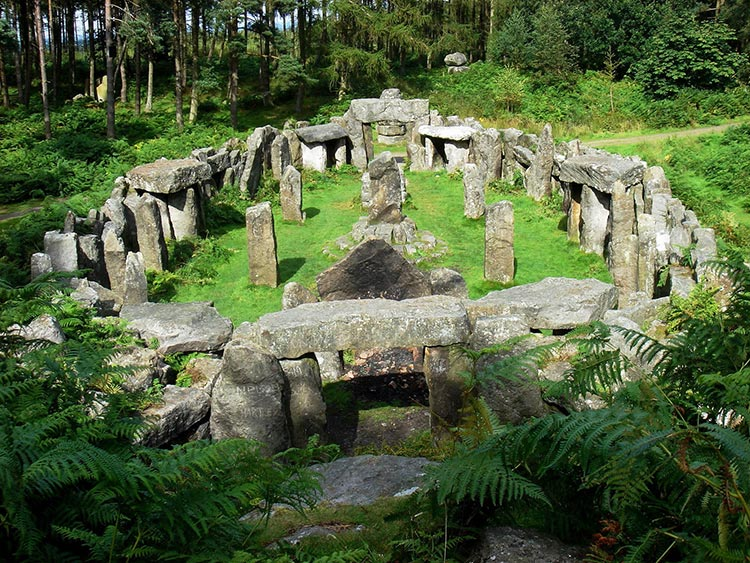 swinton estate druids temple
