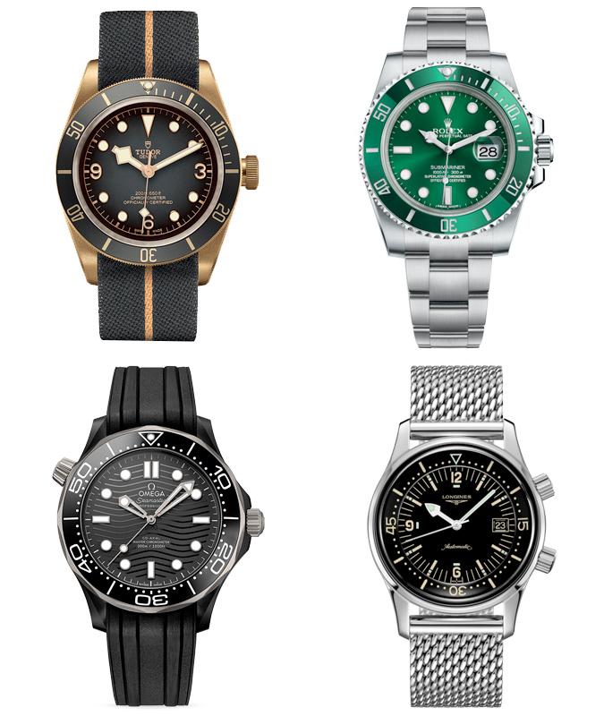 The best men's diving watches